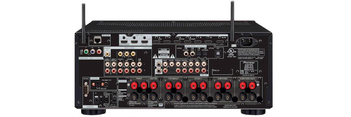 Pioneer Elite SC-99 connections