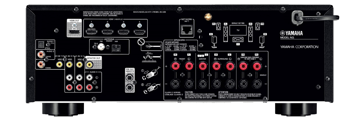 Yamaha RX-V585BL