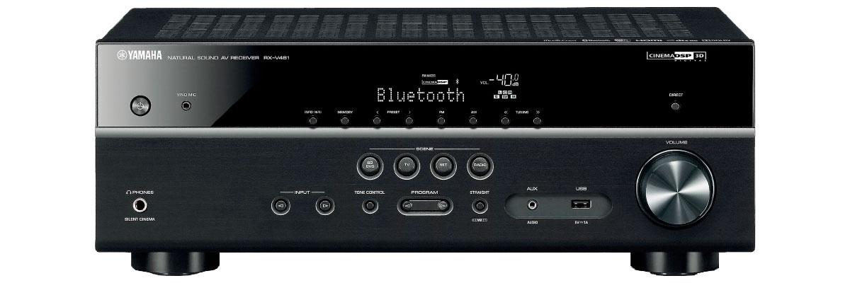 Yamaha RX-V481BL